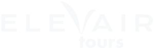 Elevair Tours Logo White Wo Background